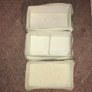 3 Collapsible Boxes